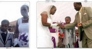 Anak ABG usia 8 tahun nikahi wanita tua umur 61 tahun