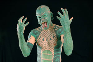 Eric Sprague: The Lizardman