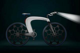 Inilah Bentuk Sepeda Masa Depan