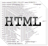 HTML facebook page